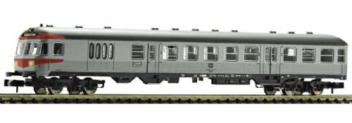 Fleischmann 814002 - 2nd class local driving trailer with luggage compartment type BDnrzf 740, DB